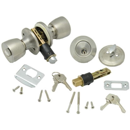 Picture of AP Products  SS Lever Entry Door Lock w/Deadbolt 013-234-SS 20-5026