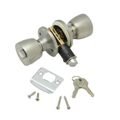 Picture of AP Products  SS Keyed/Knob Entry Door Lock 013-220-SS 20-5031