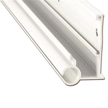 Picture of AP Products  16' Polar White Aluminum Awning Rail 021-56301-16 20-6955