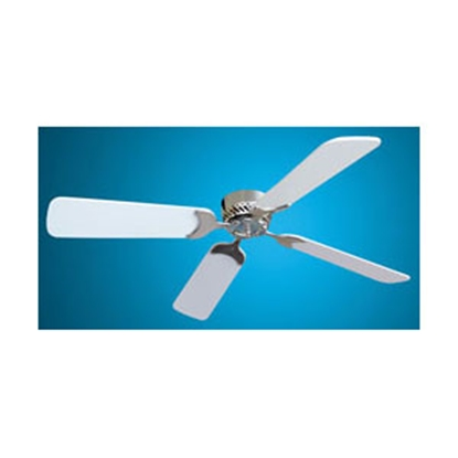 "Picture of Lasalle Bristol  Ceiling Fan, Brush Nickel, 42"" White Blades 410TSDC42BNWH 22-0001"