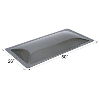 """Picture of Icon  Smoke 22""""x46"""" RO 26""""x50"""" Flange Skylight 12131 22-0047"""