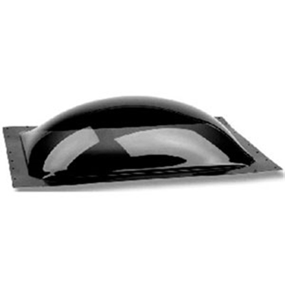 "Picture of Specialty Recreation  Smoke Black 14""x14"" RO 18-1/2""x18-1/2"" Flange Skylight K1414S 22-0057"