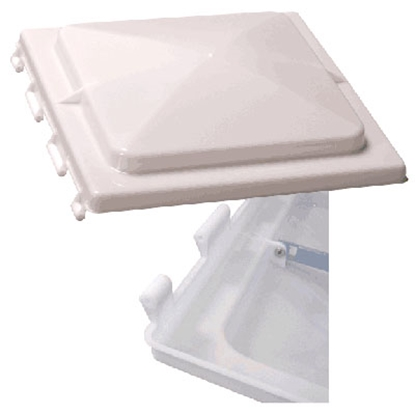 "Picture of Ventmate  White Polypropylene 14"" X 14"" Jensen Style Roof Vent Lid 61628 22-0150"