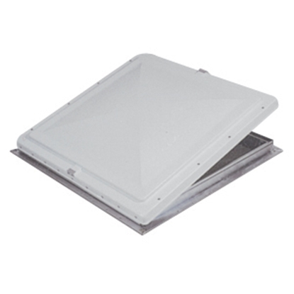 "Picture of Heng's  22"" X 22"" White Exit Vent Lid for Hengs/ Elixir 90129-C1 22-0171"