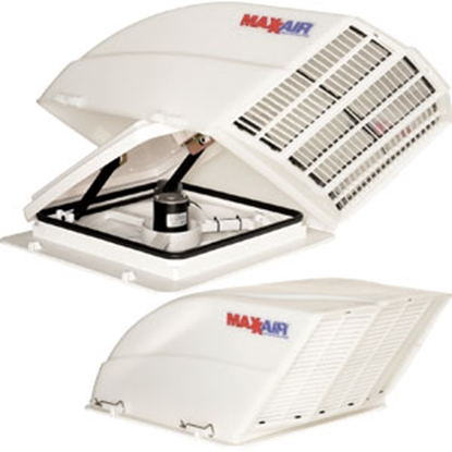 Picture of MaxxAir Fan/ Mate (TM) White Roof Vent Cover 00-955001 22-0206