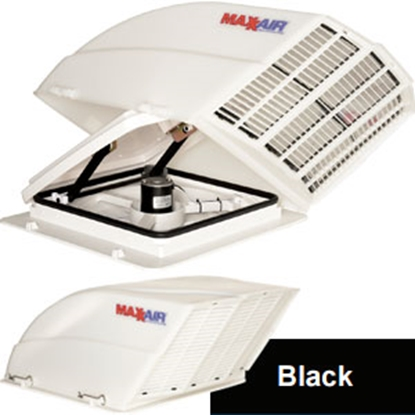 Picture of MaxxAir Fan/ Mate (TM) Black Roof Vent Cover 00-955002 22-0207