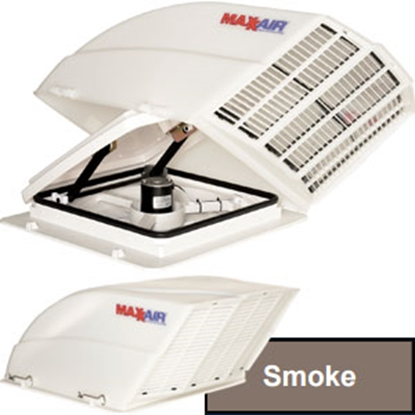 Picture of MaxxAir Fan/ Mate (TM) Smoke Roof Vent Cover 00-955003 22-0208
