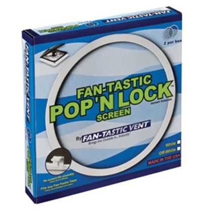 Picture of Fan-Tastic Vent  2-Pack White Pop N Lock Screen K2035-81 22-0212