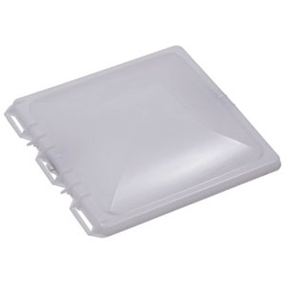 "Picture of Ventmate  White Polypropylene 14"" X 14"" Jensen Style Roof Vent Lid 69282 22-0242"