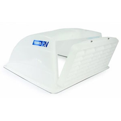 "Picture of Camco  White 14""x14"" Roof Vent Cover 40446 22-0308"