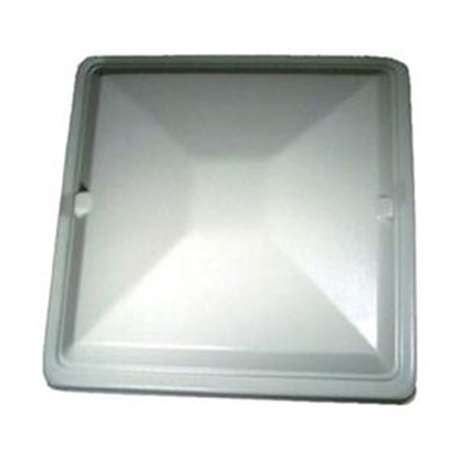 "Picture of Heng's  22"" x 22"" White Exit Vent Lid for Jensen J294X22WH 22-0355"