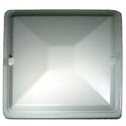 "Picture of Heng's  18"" x 25"" White Exit Vent Lid for Jensen J294X18WH 22-0363"