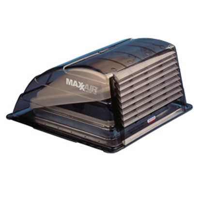 """Picture of MaxxAir  Smoke 14""""x14"""" Roof Vent Cover 00-933067 22-0371"""