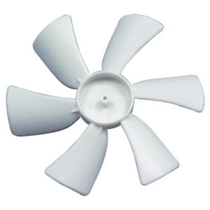 "Picture of Heng's  6"" D Shaft CCW Fan Blade for Heng's 12V Vents JRP1002R-C 22-0398"