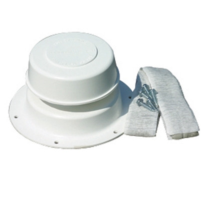 "Picture of Camco Replace-All Polar White 2-1/2"" Plumbing Vent w/Cap 40033 22-0496"