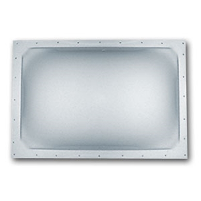 "Picture of Specialty Recreation  Clear 22""x22"" RO 25-1/2""x25-1/2"" Flange Skylight SL2222C 22-0569"