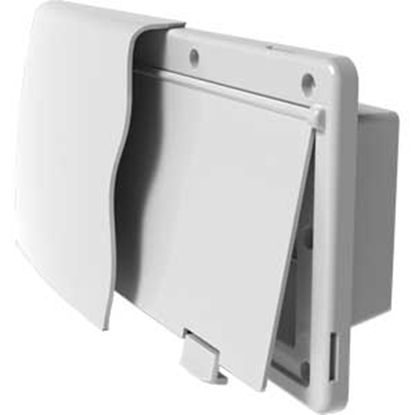 Picture of JR Products  White Endura Range Hood Vent 50015 22-0675