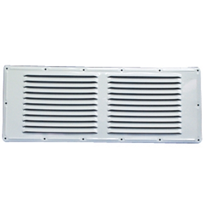 """Picture of Norcold  Polar White 18""""W x 7-1/4""""H Refrigerator Side Vent 617485PW 22-0690"""