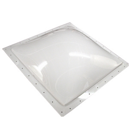 "Picture of Specialty Recreation  Smoke Black 14""x30"" RO 17-1/2""x33-1/2"" Flange Skylight SL1430S 22-0702"