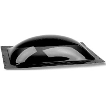 "Picture of Specialty Recreation  Smoke Black 22""x22"" RO 25-1/2""x25-1/2"" Flange Skylight SL2222S 22-0706"