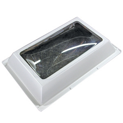 "Picture of Specialty Recreation  White 22""x22"" RO 25""x25"" Flange Skylight N2222D 22-0714"