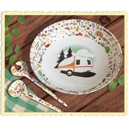 Picture of Camp Casual  Melamine Bowl And Server Set CC-003 22-1242