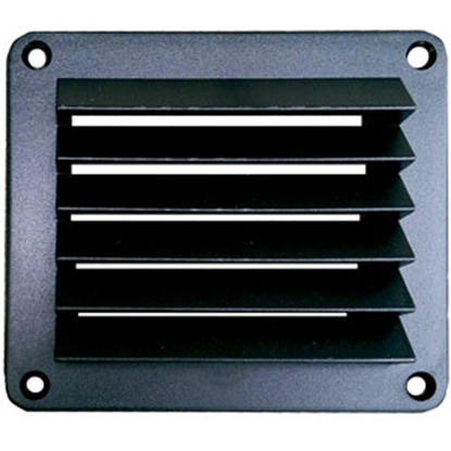 Picture of Leisure Time  Black 5'' x 5'' Wall Vent DV55B 22-3554