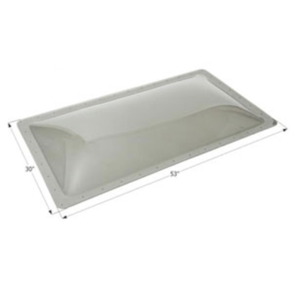 "Picture of Icon  Smoke 26""x49"" RO 30""x53"" Flange Skylight 12145 22-6240"
