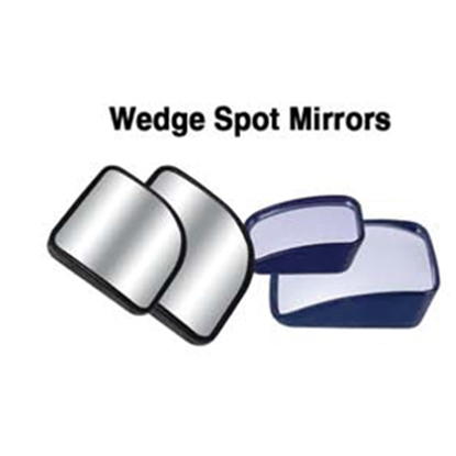 "Picture of CIPA Hot Spot 1.5"" x 2"" Wedge Convex Mirror 49002 23-0144"