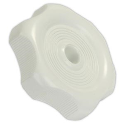 "Picture of JR Products  0.81"" White Plastic Window Crank Knob 20335 23-0574"