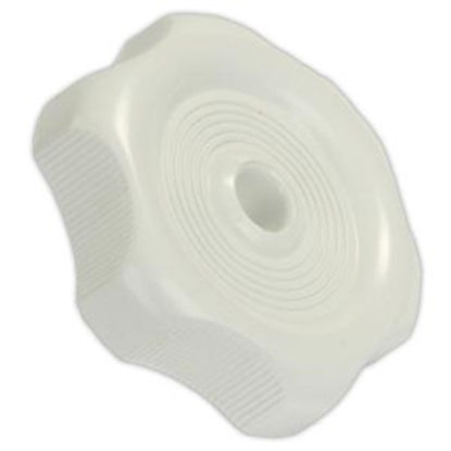 "Picture of JR Products  0.27"" White Plastic Window Crank Knob 20355 23-0576"