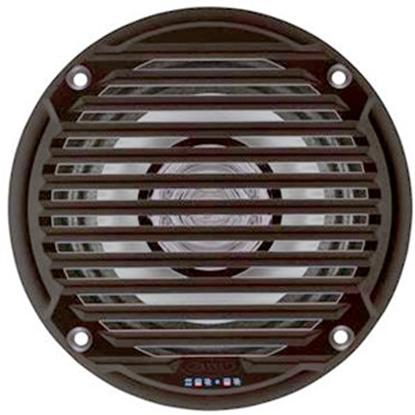 "Picture of Jensen  Set-2 Black 5"" Waterproof Dual Cone Marine Speaker MS5006BR 24-0057"