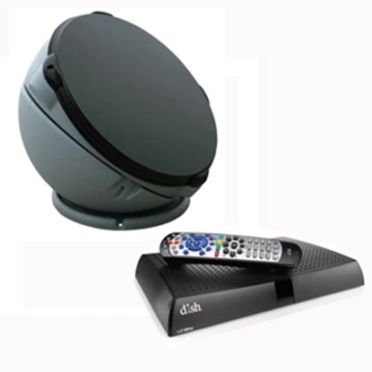Picture of Winegard Pathway X2 White Portable Automatic Stationary Satellite TV Antenna PA6002R 24-0097