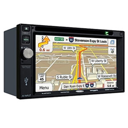Picture of Jensen  Black AM/FM/CD/DVD/USB/NAV Touchscreen Radio w/Bluetooth, USB VX7020ARTL 24-0402