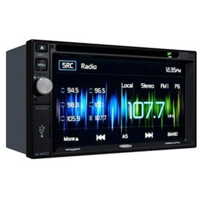 Picture of Jensen  Black AM/FM/CD/DVD/MHL Touchscreen Radio w/Bluetooth, USB VX4022ARTL 24-0403