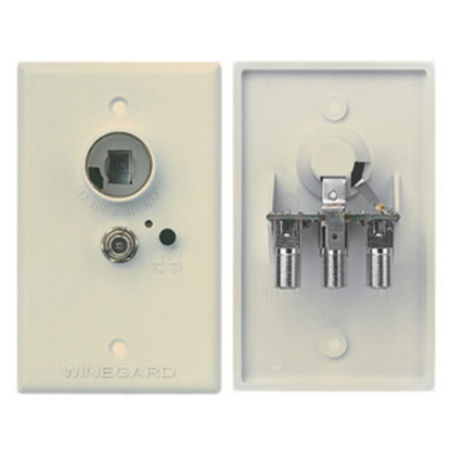 Picture of Winegard  Ivory 12V Wall Plate Power Supply RV-7012 24-0460