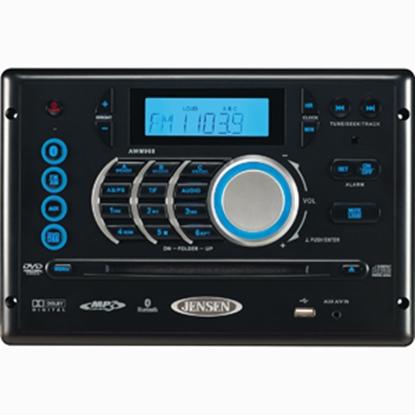 Picture of Jensen  Black AM/FM/CD/iPod/MP3 LCD Display Radio w/Bluetooth & USB AWM968 24-3846