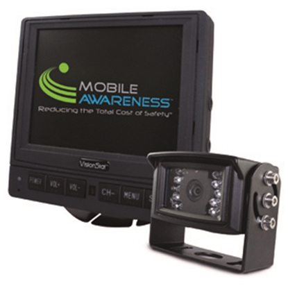 "Picture of Mobile Awareness VisionStat (R) Single Camera 5.6"" Backup Camera System MA1126 24-5091"