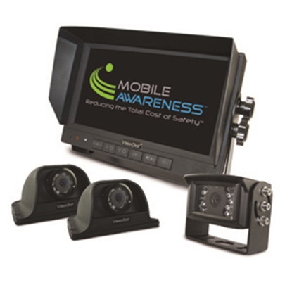 "Picture of Mobile Awareness VisionStat (R) Triple Camera 7"" VisionStat Backup Camera System MA1102 24-5093"