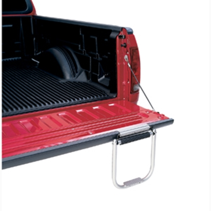 Picture of Topline Tailgate Silver 2-Step Tailgate Step TS3000-01 25-0002