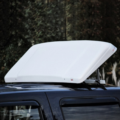 Picture of ICON AeroShield 56 Inch Width x 22 Inch Height White Air Deflector 01546 25-0073