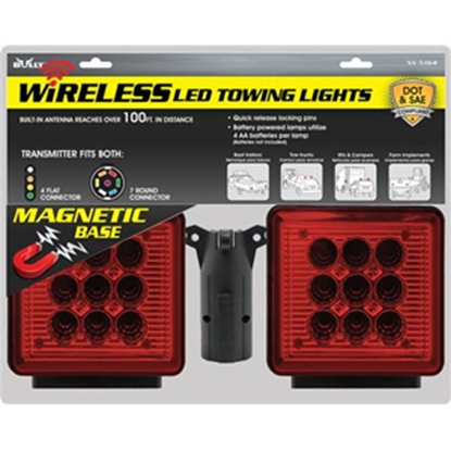 Picture of Bully Wireless Wireless LED Magnetic Base Tow Light Kit NV-5164 25-0800