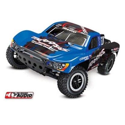 Picture of Traxxas Slash Blue 4x4 Ulitimate Ed w/Audio 1/10 RC Vehicle 580342BLU 25-1858