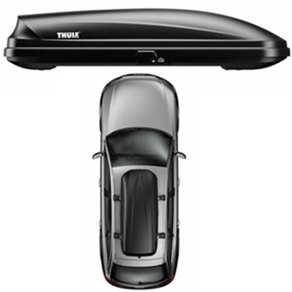 Picture of Thule Pulse XL Black 16CF Single Side Opening Cargo Carrier 615 25-2682