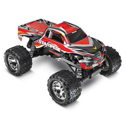 Picture of Traxxas STAMPEDE (R) Red Stampede 2WD Truck 1/10 RC Vehicle 360541RED 25-6832