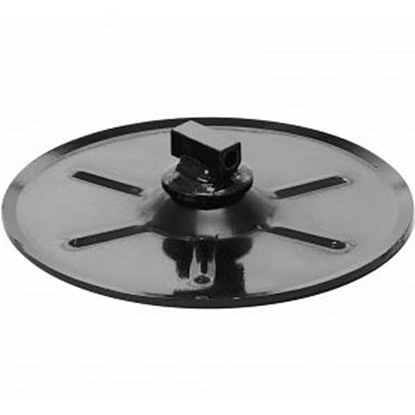 "Picture of Stromberg Carlson  Black 9"" Round Foot Pad for Landing Gear LG-210475 45-1612"