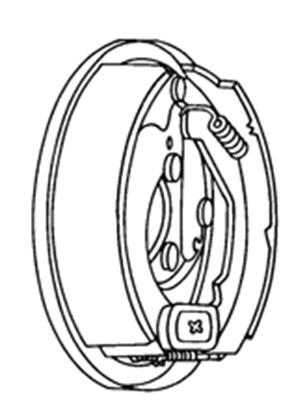 Picture of Tekonsha Electric Trailer Brake Kit RH Brake Assembly 5712 46-0674