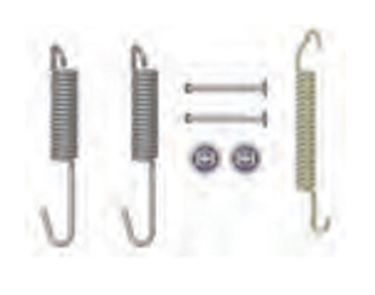 "Picture of AP Products  10"" Brake Spring & Hardware Kit 014-136452 46-0810"