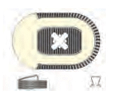 """Picture of AP Products  10"""" Brake Magnet Kit 014-136454 46-0812"""