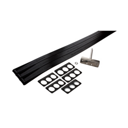 "Picture of AP Products Flexguard 8"" Post Triple Flexguard Kit 014-134629 46-0892"